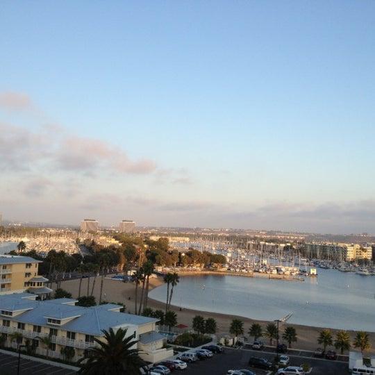 Photo taken at Marina Del Rey Marriott by Sara S. on 9/25/2012