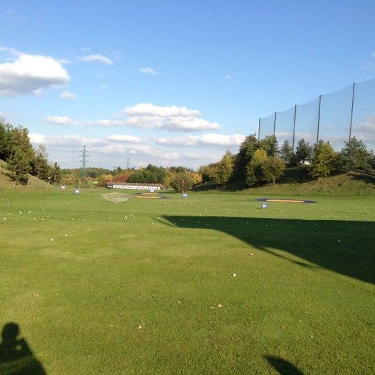 Photo taken at Golf Hostivař by Honza on 10/11/2012