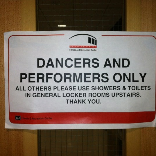 Photo taken at Boston University Dance Theater by Rees P. on 11/2/2012