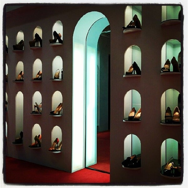 Photo taken at Christian Louboutin by Ho on 4/5/2014