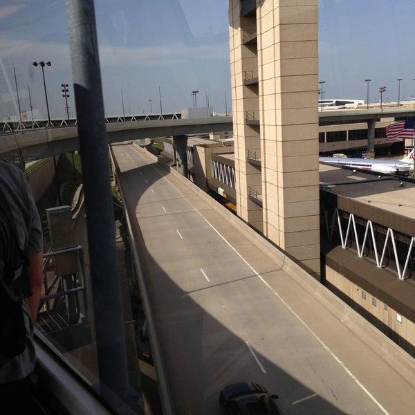 Airport Tram In DFW Airport