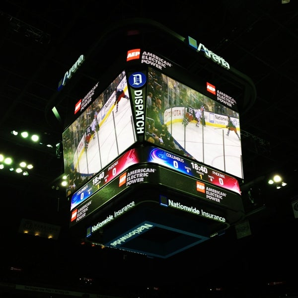 Photo taken at Nationwide Arena by Sarah K. on 3/17/2013