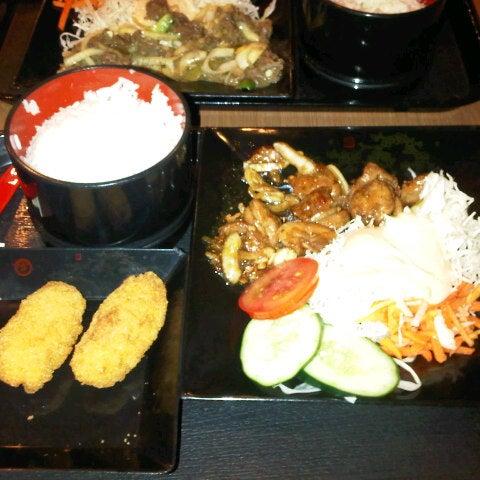 Photo taken at HokBen by Putu D. on 10/20/2012