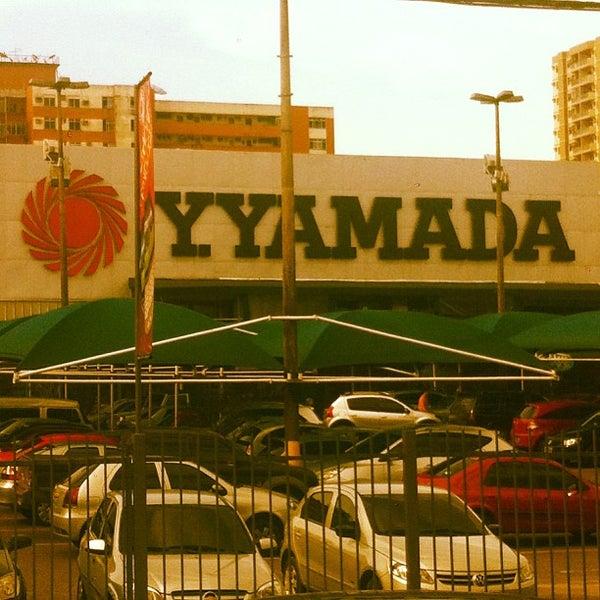 Photo taken at Yamada Plaza by Elias P. on 4/10/2013