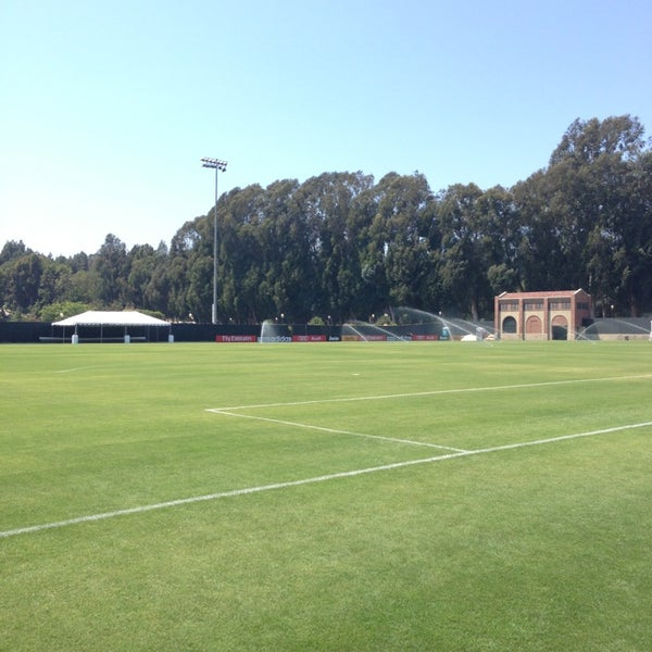 Photo taken at UCLA Intramural Field by James H. on 7/27/2013