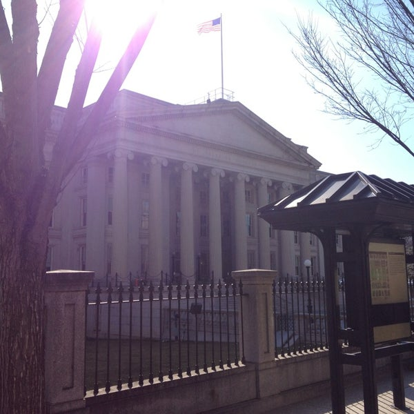 Photo taken at US Department of the Treasury by Jay Y. on 2/24/2013