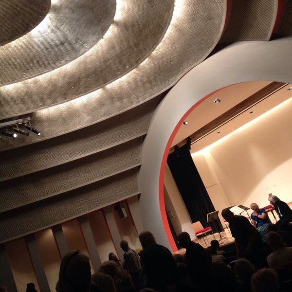 Photo taken at The New School Auditorium at 66W 12th by Jay Y. on 10/12/2014