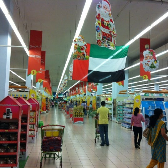 Photo taken at Lulu Hypermarket by Austin on 12/2/2012