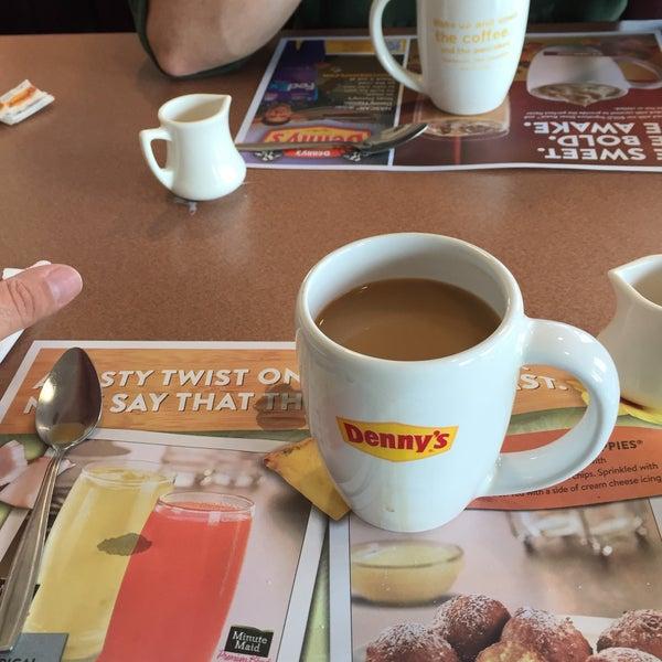 Photo taken at Denny's by Jeffrey D. on 4/22/2015
