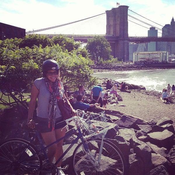Photo taken at Brooklyn Bridge Park by Meghan Kathleen on 5/27/2013
