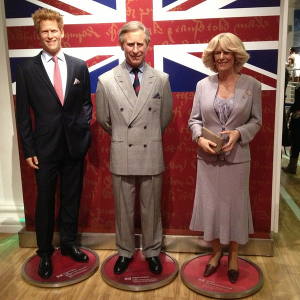 Photo taken at Madame Tussauds by Alexandra A. on 3/16/2013