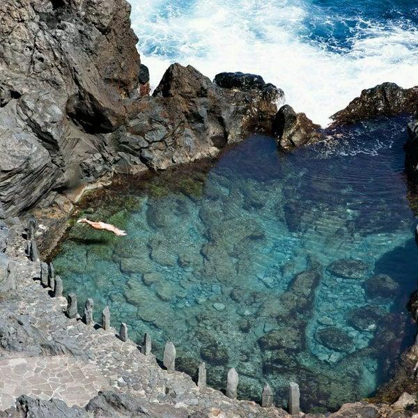 Los abrigos piscina natural