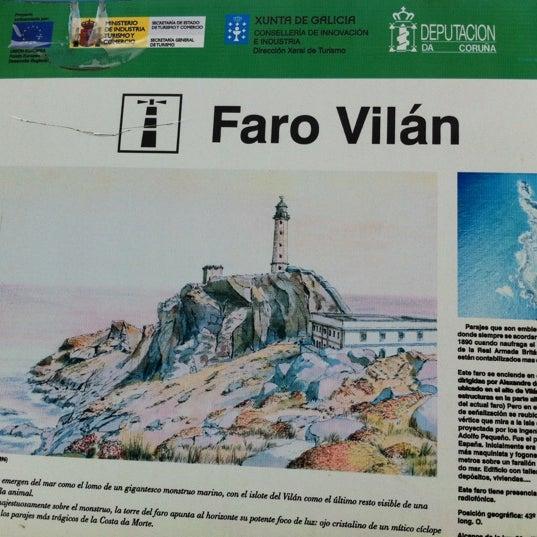 Foto tomada en Faro de Cabo Vilán por Lola M. el 10/8/2012