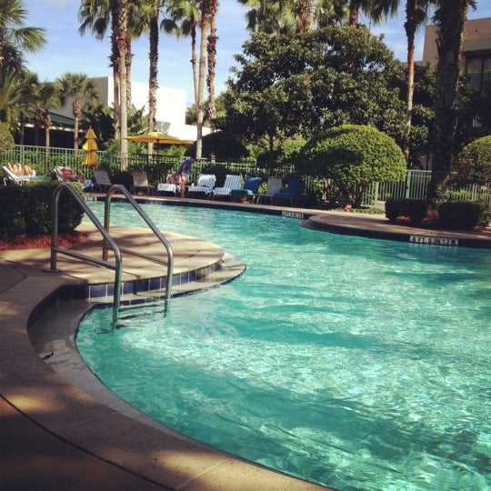 Photo taken at Marriott World Center Pool by Debbie L. on 10/13/2012