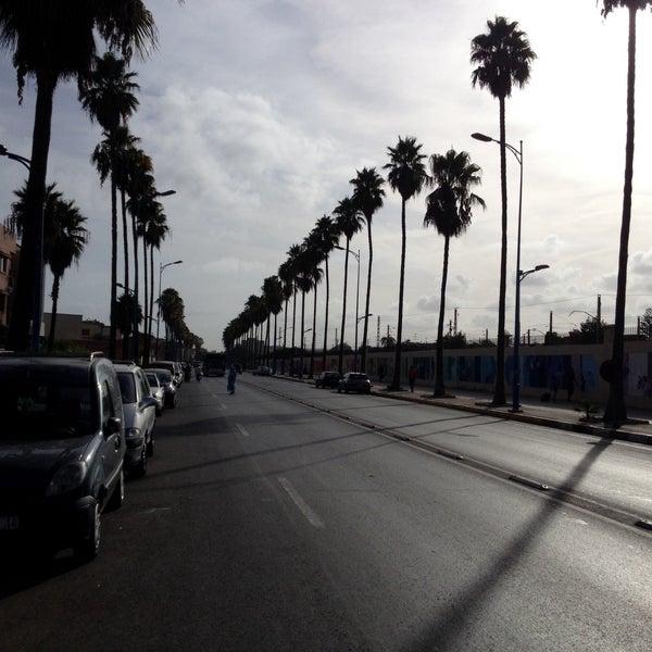 Photo taken at Gare de Mohammédia  محطة المحمدية by yetkin a. on 8/14/2015