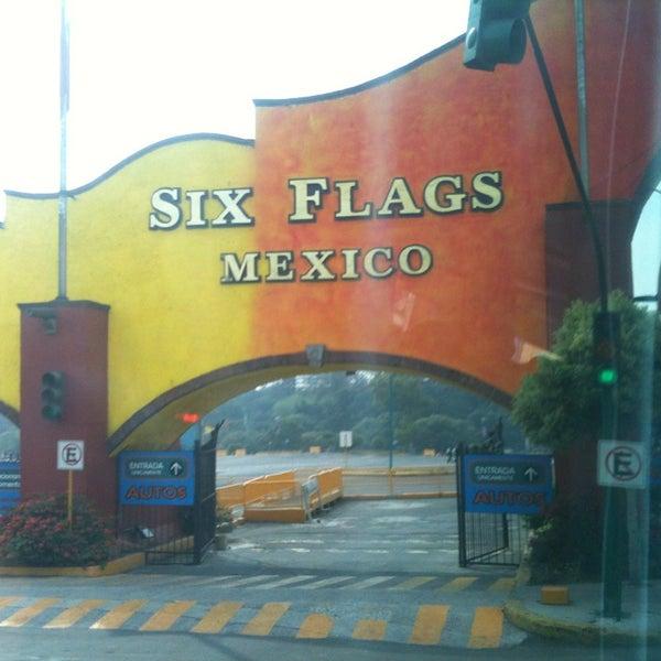 Photo taken at Six Flags México by Arturo C. on 5/16/2013