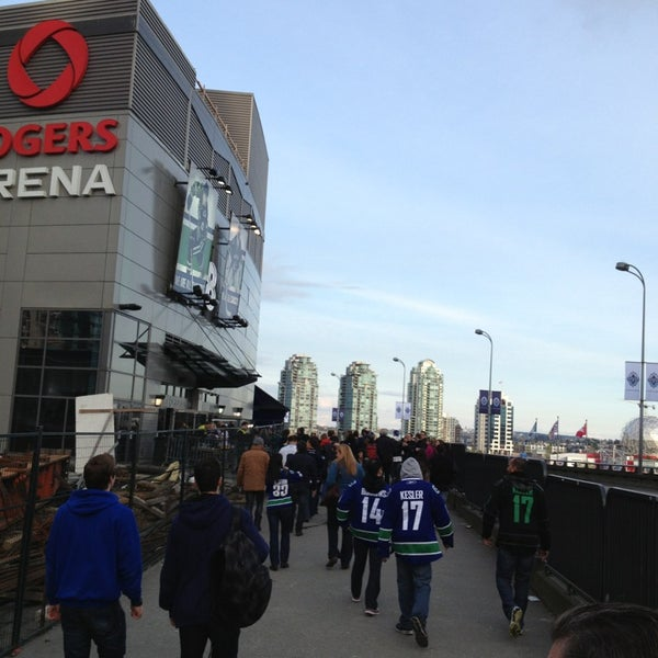 Photo taken at Rogers Arena by Troy D. on 4/9/2013