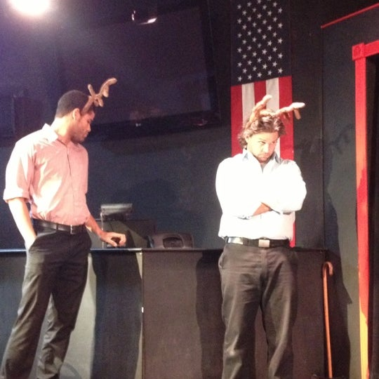 Photo taken at Brave New Workshop Comedy Theatre by Kristen H. on 10/26/2012
