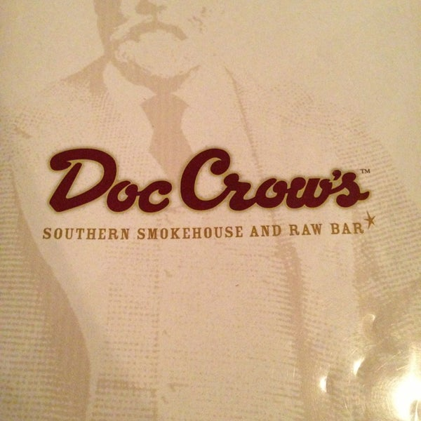 Photo taken at Doc Crow's Southern Smokehouse & Raw Bar by Sherry C. on 6/24/2013