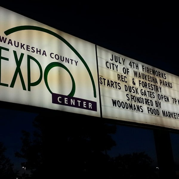 Photo taken at Waukesha County Expo Center by Jason W. on 7/5/2014
