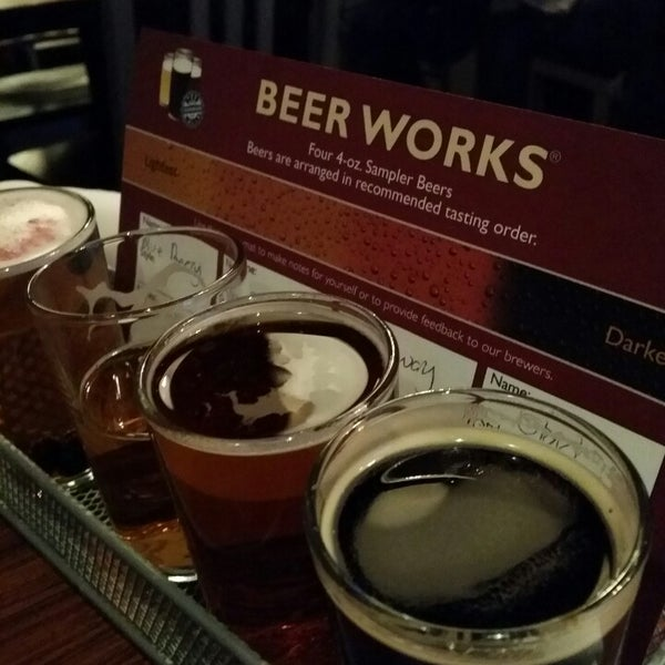 Photo taken at Boston Beer Works by Guy B. on 3/23/2015