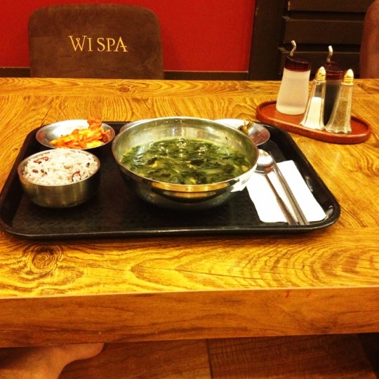 Photo taken at Wi Spa by Kevin K. on 12/20/2012