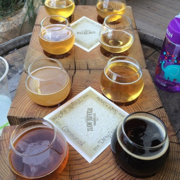 Photo taken at Haw River Farmhouse Ales by Amanda A. on 6/19/2016