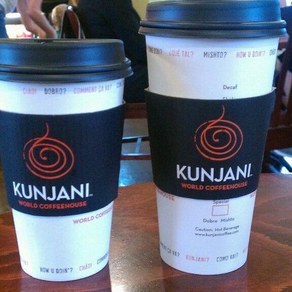 Photo taken at Kunjani Coffea by Michael H. on 9/12/2013