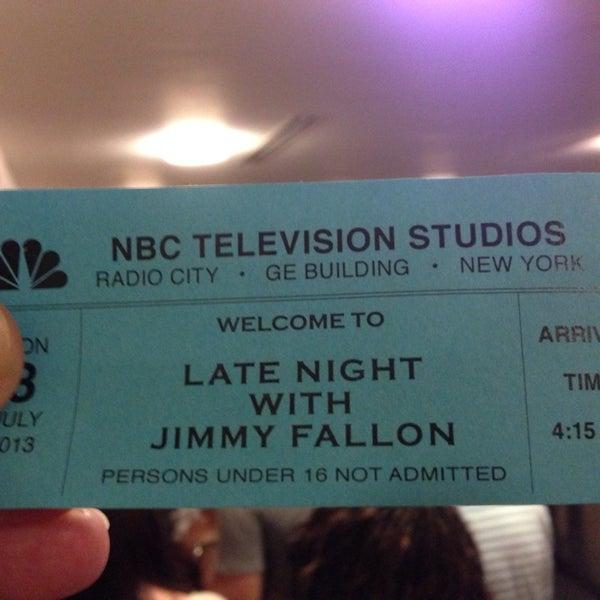 Foto tirada no(a) Late Night with Jimmy Fallon por Philip R. em 7/8/2013
