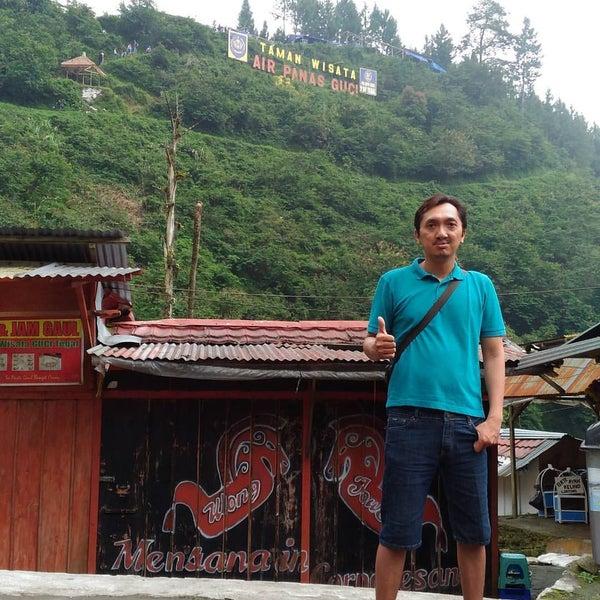 Photo taken at Taman Wisata Air Panas Guci by Dudy P. on 8/16/2016