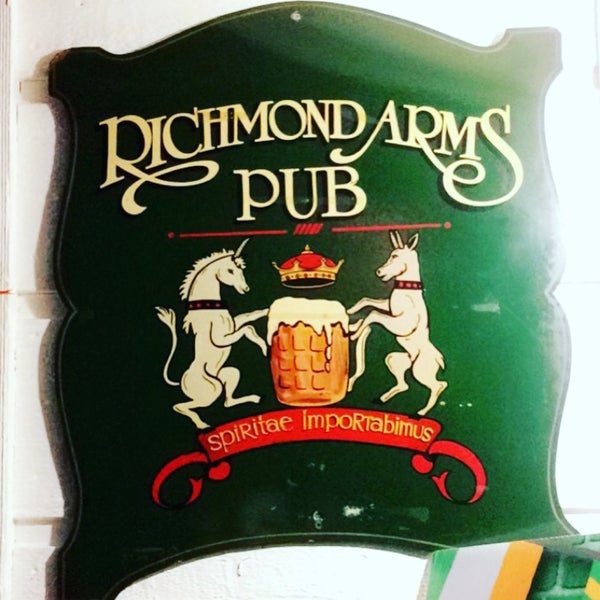 Photo taken at The Richmond Arms Pub by Natalya R. on 3/18/2017