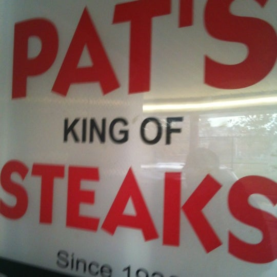 Photo taken at Pat's King of Steaks by Jason H. on 11/23/2012