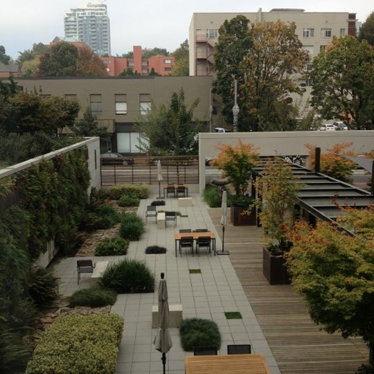 Photo taken at Hotel Modera by Ashley A. on 10/11/2012