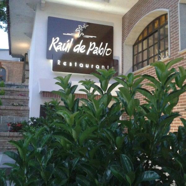 Restaurante r ul de pablo san sebasti n de los reyes madrid for Restaurante italiano san sebastian de los reyes