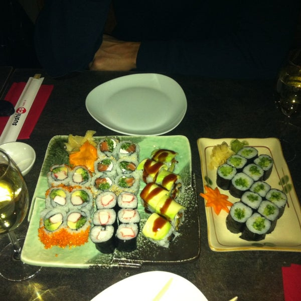 Photo taken at SushiCo by Tugce S. on 1/13/2013