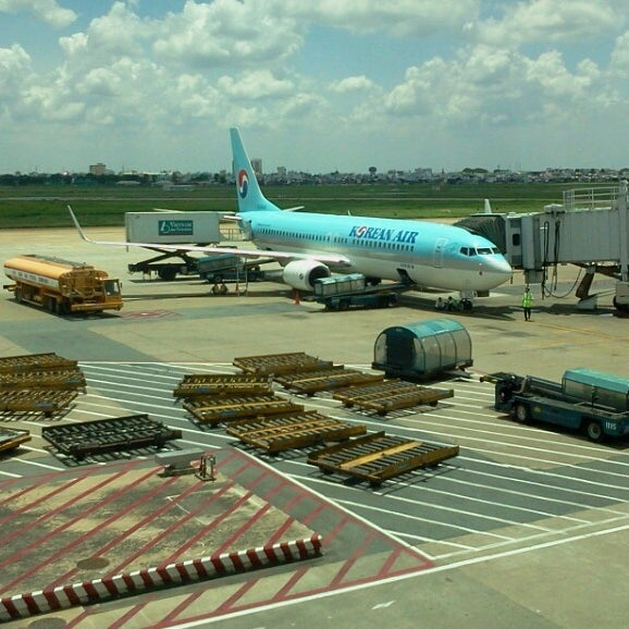 Photo taken at Tan Son Nhat International Airport (SGN) by Kamil H. on 5/26/2013
