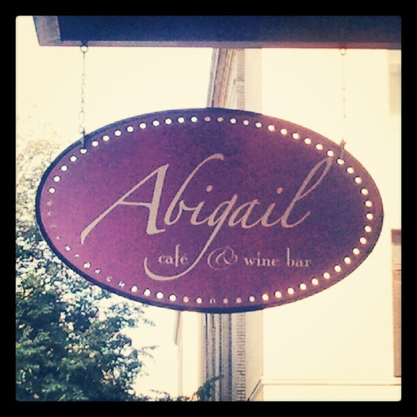 Photo taken at Abigail Cafe & Wine Bar by Bill S. on 10/5/2012