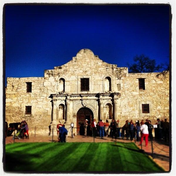 Photo taken at The Alamo by Wayne L. on 3/2/2013