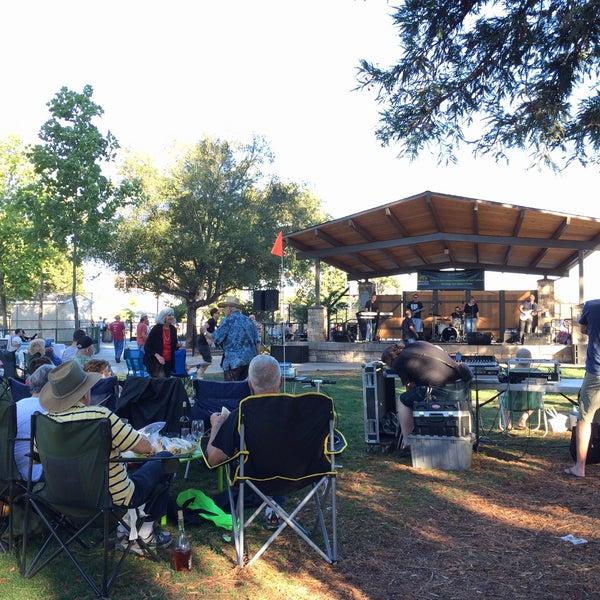 Photo taken at Burton Park by Olga S. on 8/15/2015