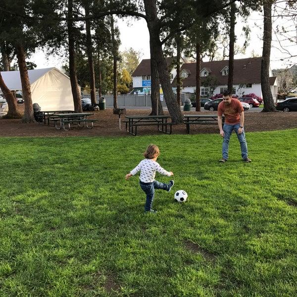 Photo taken at Burton Park by Olga S. on 3/19/2017