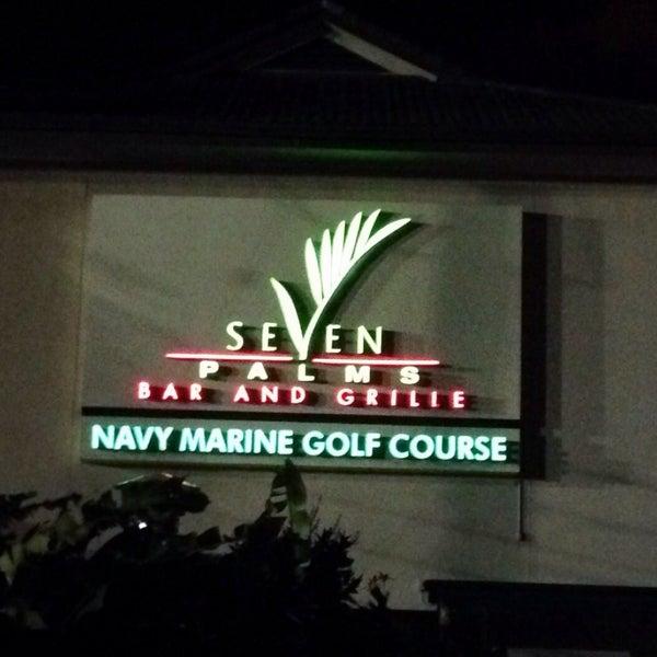 Photo taken at Navy Marine Golf Course by John C. on 12/20/2014