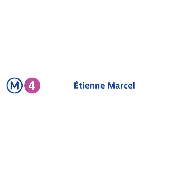 Photo taken at Métro Étienne Marcel [4] by RATP on 7/15/2013