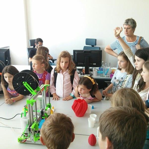 Photo taken at 3Dprint lab by Veronika D. on 6/18/2014