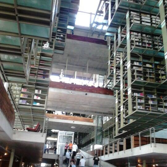 Photo taken at Biblioteca Vasconcelos by Gabriel L. on 1/27/2013