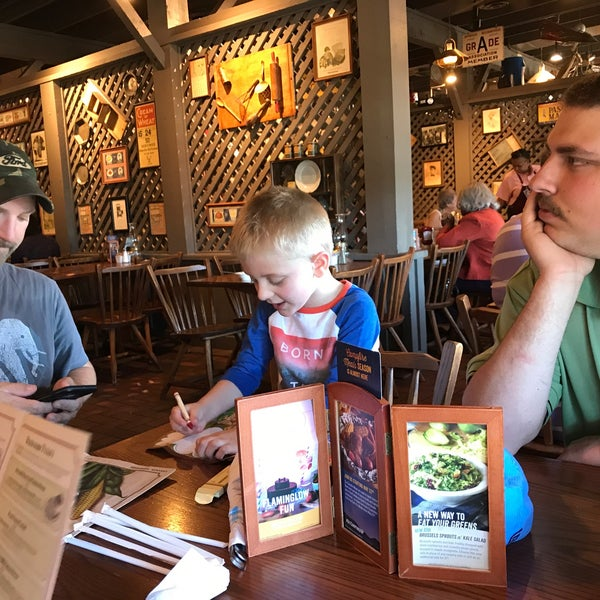 Photo taken at Cracker Barrel Old Country Store by Ted J. on 5/8/2017