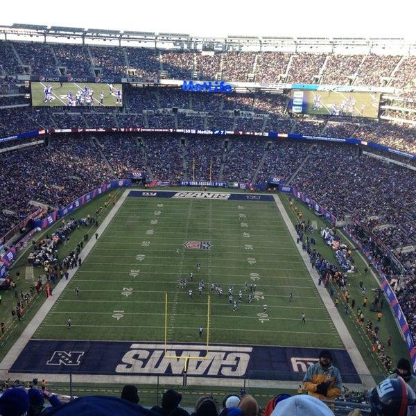 Photo taken at MetLife Stadium by Matt C. on 12/30/2012