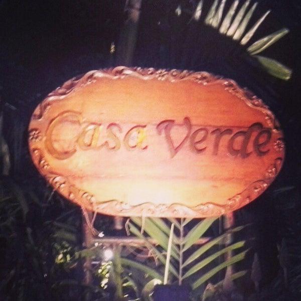 Photo taken at Casa Verde by John K. on 2/14/2013