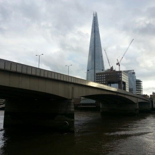 Photo taken at London Bridge by chris t. on 11/9/2012