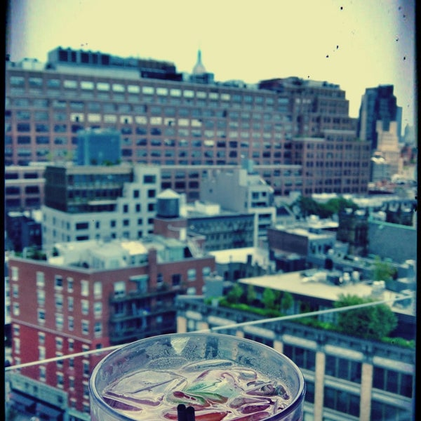 Photo taken at Gansevoort Meatpacking NYC by Alaina R. on 7/6/2013