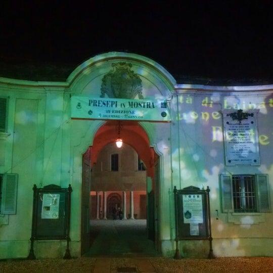 Photo taken at Villa Visconti Borromeo Litta by Quanti on 12/28/2014